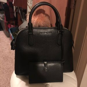 Michael Kors top handle bag with wallet